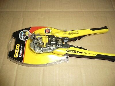 Stanley 203Mm Automatic Wire Stripper, Crimper And Cutter New
