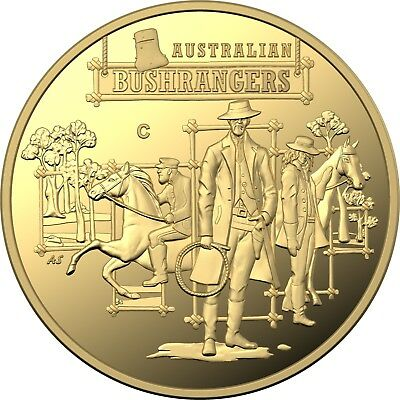 2019 $10 Australia's Wild Colonial Bushrangers Gold Proof Coin