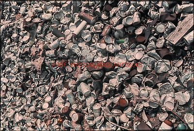 Early 1970S Beer & Soda Cans Bottles Recycle Center 35Mm Photo Slide Abstract 2