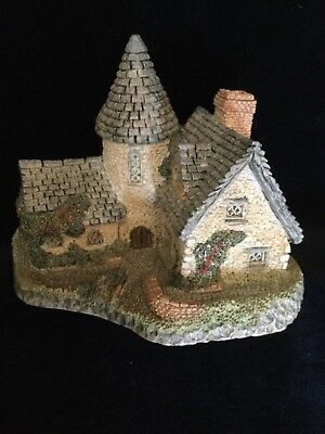 """The Vicarage"" by David Winter - Authentic Vintage 1985 Ceramic Cottage - NIB"