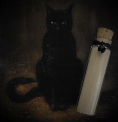 BLACK CAT Luck Ritual Powder ~ Wicca Witchcraft  Hoodoo Voodoo Potions Powders