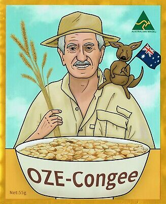 Hiking & Camping instant foods OZE-Congee Australias Super Food 10 x 55g sachets