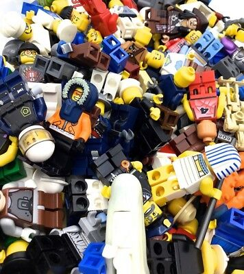 Lego Bulk Lot of 50 Grab Bag Minifigures Town City /& More Free US Shipping