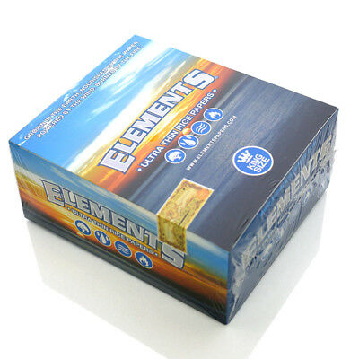 ELEMENTS Finest Quality Tobacco Herbal Rolling Paper 50 Booklets King Size