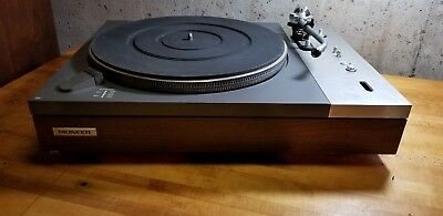Pioneer Pl-510 Turntable For Parts Or Refurbishment.