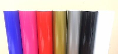 Oracle 651 Glossy Permanent Vinyl Rolls 12 x 5 ft (5 Rolls) CHOOSE YOUR COLORS