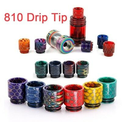 810 Drip Tip Snake Resin For TFV12 Prince X BABY TFV8 Big Baby Tank 810 Atomizer