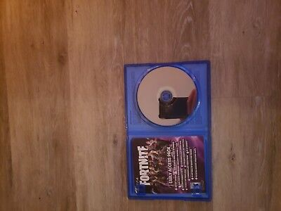 Fortnite (Sony PlayStation 4, 2017) rare Physical  coppie