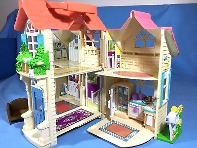 Fisher Price - Sweet Streets Fold-Out Country Cottage + Accessories