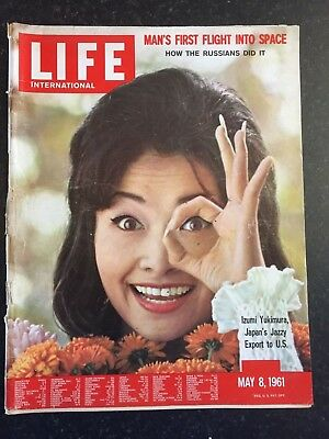 LIFE Magazine - May 8th 1961 - Man's First Flight Into Space (International Ed)