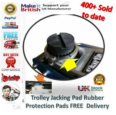 For Halfords Quick Lift 3 Tonne - Large Jacking Pad for Garage Trolley Jack Pad