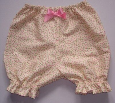 Baby girls bloomers, pants knickers shorts floral flowers 0-3m