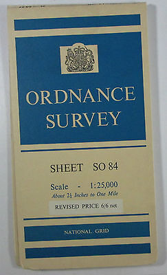 1965 OS Ordnance Survey 1:25000 First Series Prov Map SO 84 Upton upon Severn