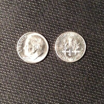 1955-D Silver Roosevelt Dime Choice/Gem BU THESE ARE BEAUTIFUL.