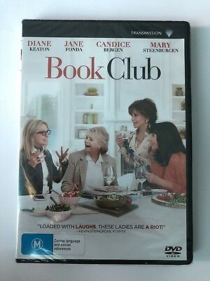 Book Club (DVD, 2018) Brand New & Sealed Movie Rated M 🍿 Keaton Fonda Comedy