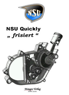 """NSU Quickly """"frisiert"""" Rennquickly Tuning Motor Jacobi"""