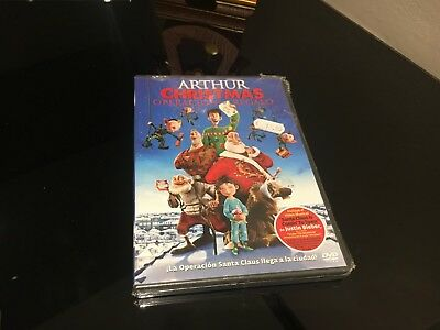 Arthur Christmas Dvd Operation Gift Sealed New