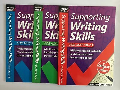 Supporting Writing Skills Ages 7-11 (3 books set) NEW!!!!