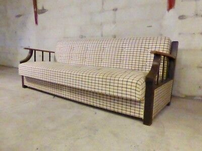SB004 - Sofa Bed Day Bed Mid-Century Danish Modern Studio Couch Vintage Retro