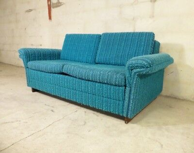 SB013 - Sofa Bed Day Bed Mid-Century Danish Modern Studio Couch Vintage Retro