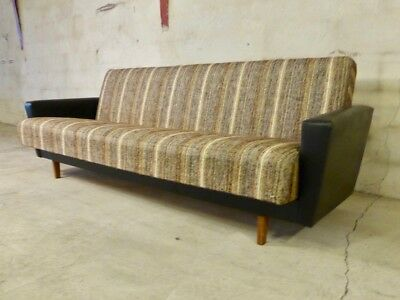 SB025 - Sofa Bed Day Bed Mid-Century Danish Modern Studio Couch Vintage Retro