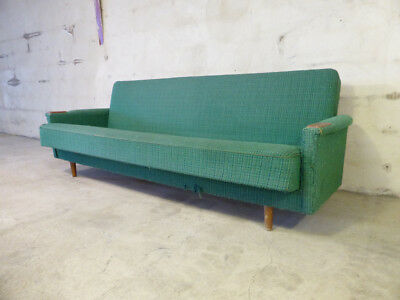 SB032 - Sofa Bed Day Bed Mid-Century Danish Modern Studio Couch Vintage Retro