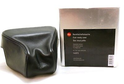 Leica Ever Ready Case M8 Black 14872 boxed MINT-
