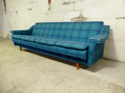 SB041 - Sofa Bed Day Bed Mid-Century Danish Modern Studio Couch Vintage Retro