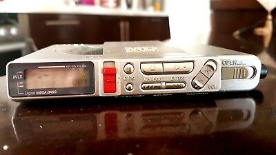 Sony MZ-R37 Mini Disc Walkman Player/Recorder with remote