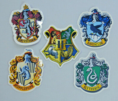 HARRY POTTER GRYFFINDOR RAVENCLAW Vinyl Decal Stickers for Laptop Phone 5x6cm