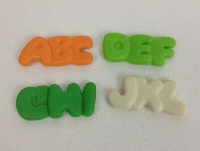 Fisher Price Fun With Food Lot of 4 Vintage Replacement Alphabet Noodle Letters