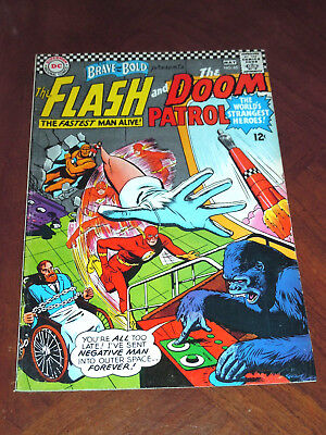 BRAVE AND BOLD #65 (1966). FINE (6.0) cond. THE FLASH, DOOM PATROL