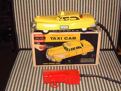 "Andy Gard Motor Powered Steering ""taxi Cab"" W/original Box, Working Perfectly!"