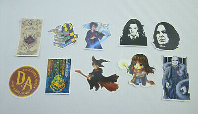 HARRY POTTER Stickers Sets HERMIONE VOLDEMORT ALWAYS HOGWARTS for Laptop Phone