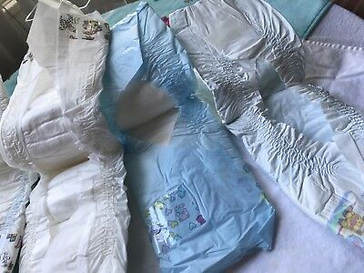 vintage disposable baby diapers