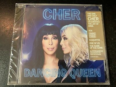 "CD  Cher  ""Dancing Queen"" SEALED w HYPE STICKER      WARNER BROTHERS"