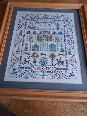 Large Reproduction sampler 1688 / 1702