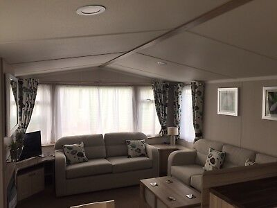 static caravan for sale sited on small quite site near to Whitby