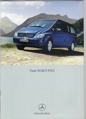 MERCEDES VIANO MARCO POLO de 2006 catalogue complet  - Réf: 2B502.73-00/0906