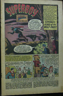 SUPERBOY LOT# 116,126,ANNUAL 1 Sum 1964-Jan 66 Origin Krypto COVERLESS COMPLETE!