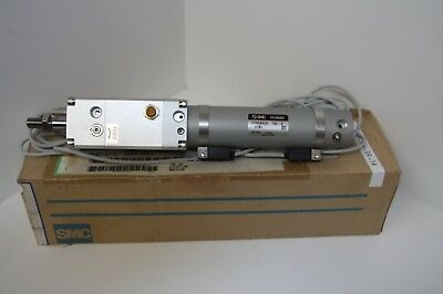 SMC CDNGBA32-100-D-H7BL Pneumatic cylinder Fine Lock air ram with Reed Switches