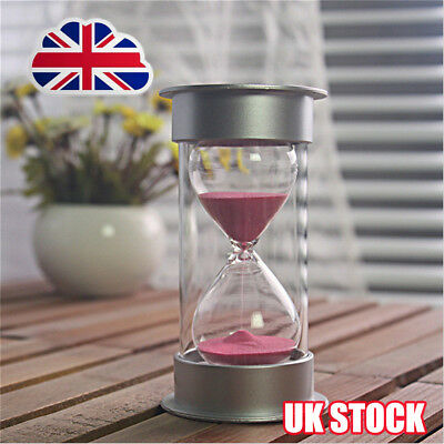Sand Timer Hourglass Game Cooking Clock Egg Timer Sandglass 10 Minutes xmas  O6