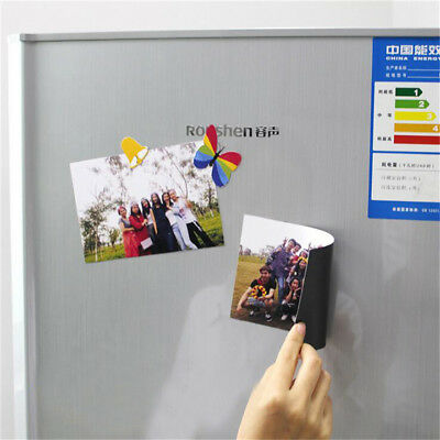 A4  0.3mm Magnetic Magnet Sheets Thickness Crafts Material O6
