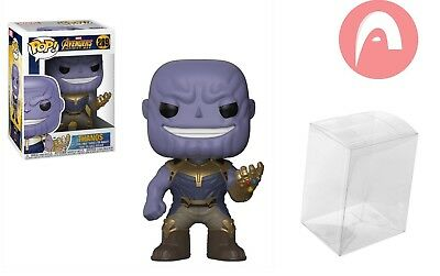 Funko Pop THANOS Marvel Avengers Infinity War Collectible Figure + Protector 289