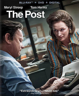 The Post (2018)--DVD + Digital HD Code Only***Please Read Full Listing***