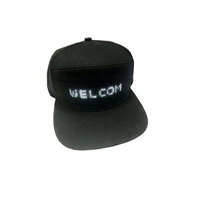LED Screen Light Cool Hat Smartphone Controlled Waterproof Baseball Cap U9