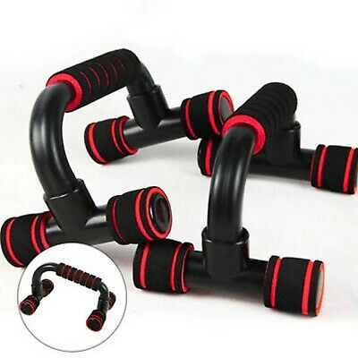 Fitness-S Push Up Bars Foam Handles Press Pull Stands Home Exercise Workout Gym