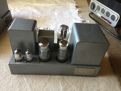 Quad 2 and 22 Tube Power Amps and Pre Amp