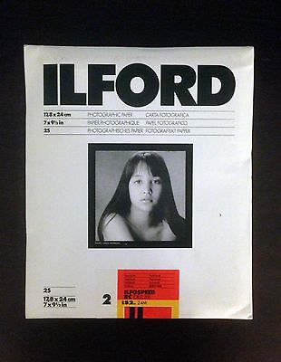 Ilford Ilfospeed RC Deluxe IS2 24M 17,8x24 cm 25 Sheets Photographic paper