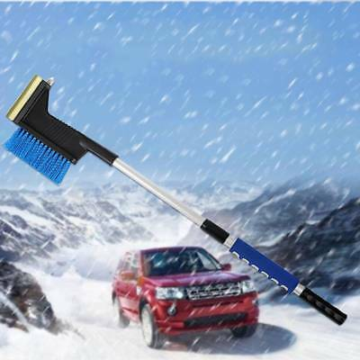 Retractable Handle Snow Shovel Snow Brush Car Cleaning Winter Car Auto Ice